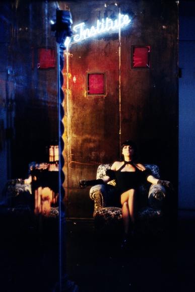 Stephanie Pfriender Stylander, Barbara, Institute, Harper's Bazaar Uomo, Milan, 1992