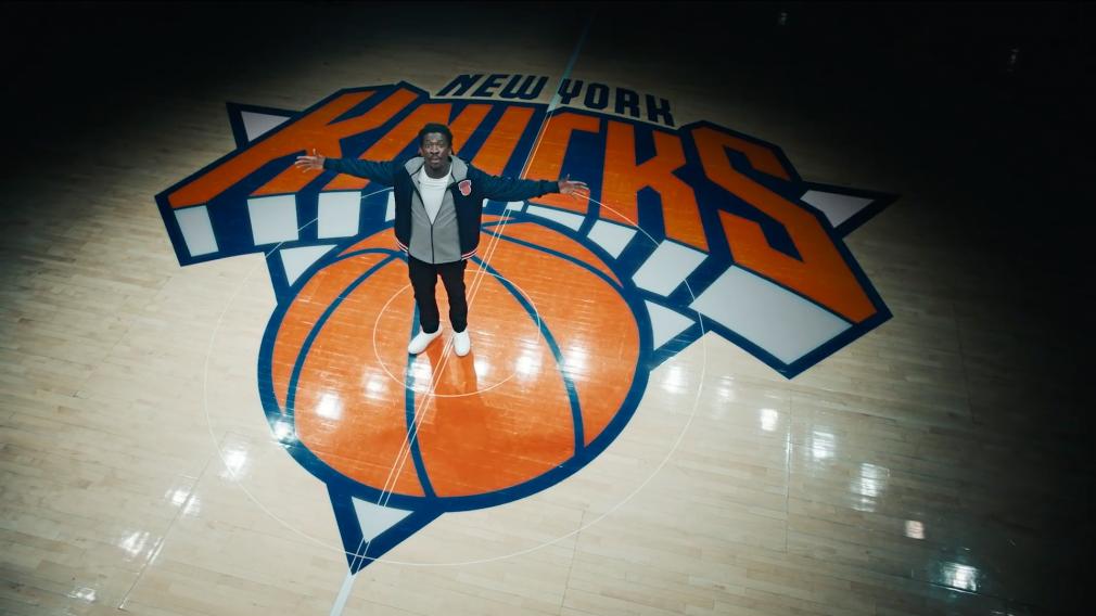 Knicks New Era spot