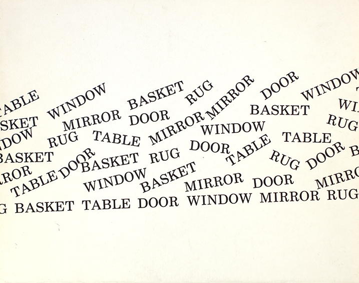 Basket, Table, Door, Window, Mirror, Rug