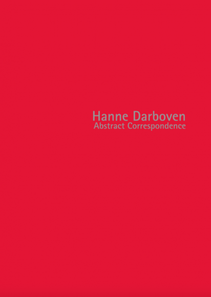 Cover of Hanne Darboven: Abstract Correspondence catalogue, published in 2013