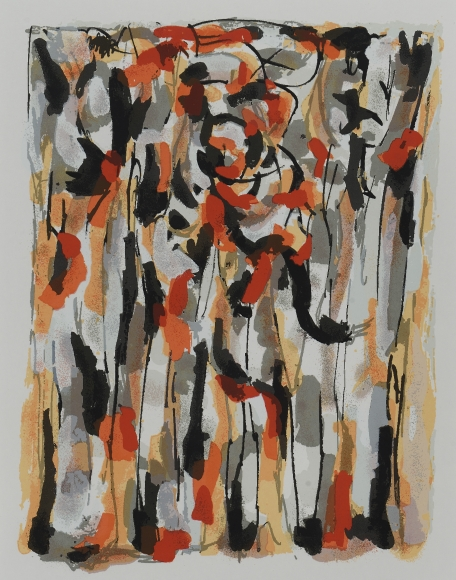 Piero Dorazio (1927-2005), Untitled, 1956/2000, Silkscreen, 17 3/4 x 13 in. (45.1 x 33 cm), Signed and dated lower right: Piero Dorazio 1956/2000, Edition of 75 plus 10 artists' proofs