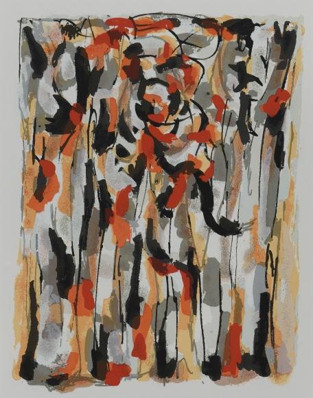 Piero Dorazio (1927-2005), Untitled, 1956/2000, Silkscreen, 17 3/4 x 13 in. (45.1 x 33 cm), Signed and dated lower right: Piero Dorazio 1956/2000, Edition of 75 plus 10 artists' proofs