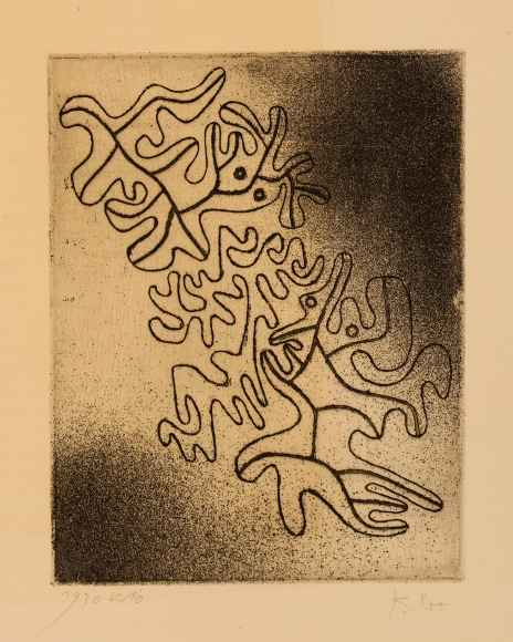 Paul Klee (1879-1940), Nicht endend (Never ending), 1930, Etching on paper, 7 x 5 1/8 in. (17.8 x 13 cm), Signed lower right: Klee, Dated and numbered lower left: 1930 K/10, Edition of 43