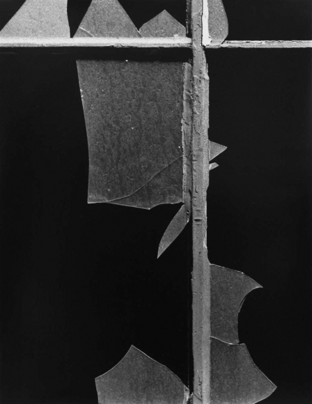 Aaron Siskind New York 1, Windows, 1947 Gelatin silver print, printed 1981 14 x 11 inches