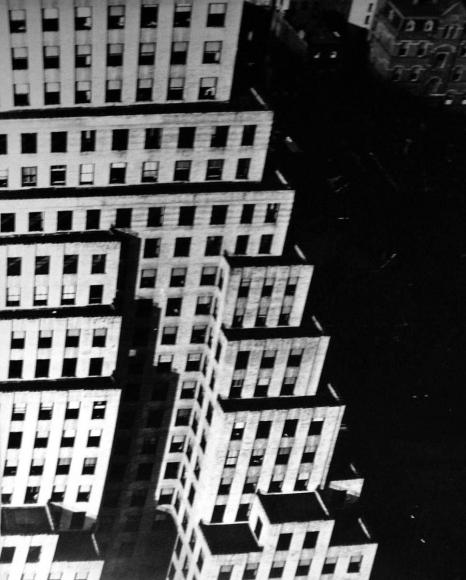 Barbara Morgan - From Chrysler Building, c.1934 Gelatin silver print, printed | Bruce Silverstein Gallery