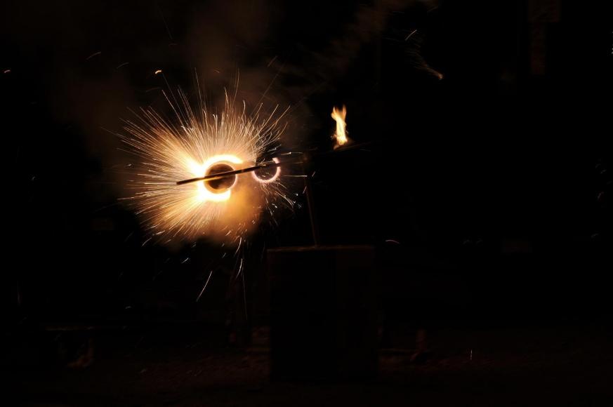 Zoe Strauss - Illegal Fireworks Pinwheel, 2001-2008  | Bruce Silverstein Gallery