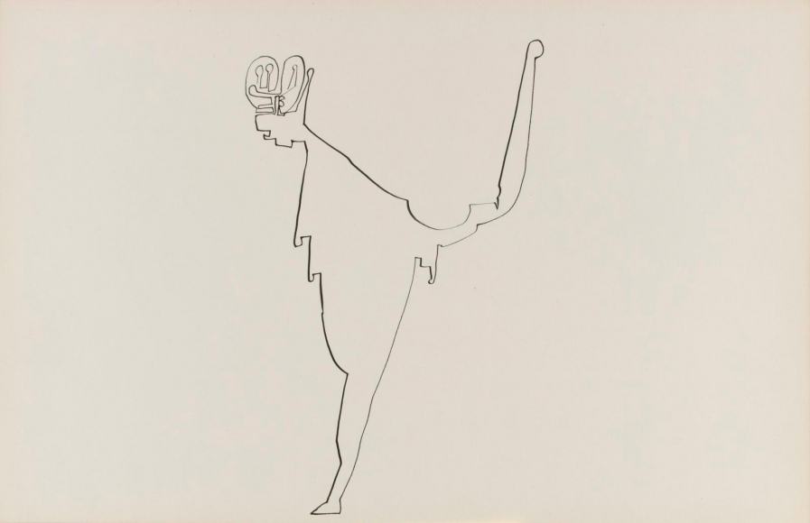 Frederick Sommer - Untitled, c. 1938-42 Pen and ink drawing on paper | Bruce Silverstein Gallery