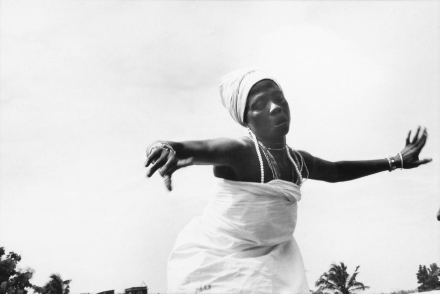 Chester Higgins -  Traditional Dancer, Ghana, 1973