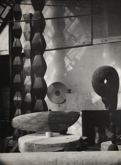 Constantin Brâncuşi - View of the Studio, c. 1933 | Bruce Silverstein Gallery