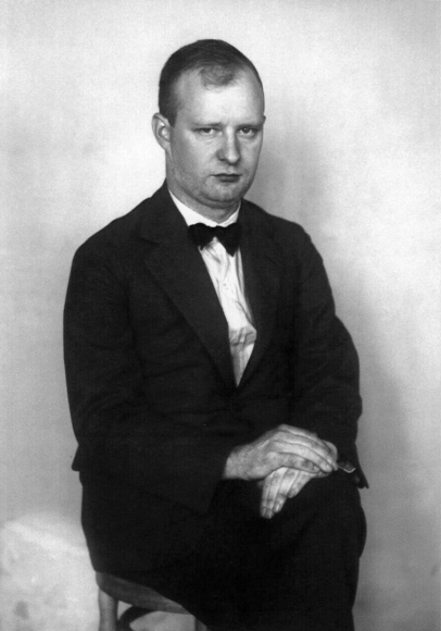 August Sander - The Composer [Paul Hindemith], c. 1925  | Bruce Silverstein Gallery