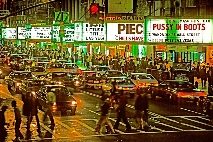 Marvin E. Newman - 42nd Street II, 1983  | Bruce Silverstein Gallery
