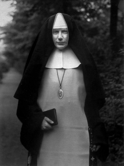 August Sander - Nun, 1921  | Bruce Silverstein Gallery