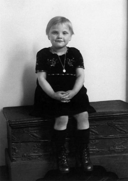 August Sander - Middle-Class Child, 1926  | Bruce Silverstein Gallery