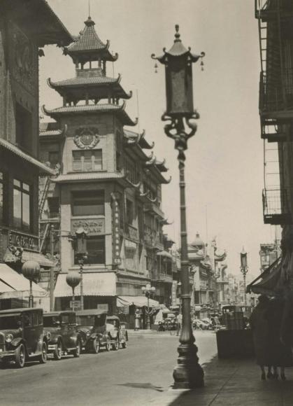Chinatown, San Francisco, California, 1926 Gelatin silver print, printed c. 1926 9 3/4 x 6 1/2 inches