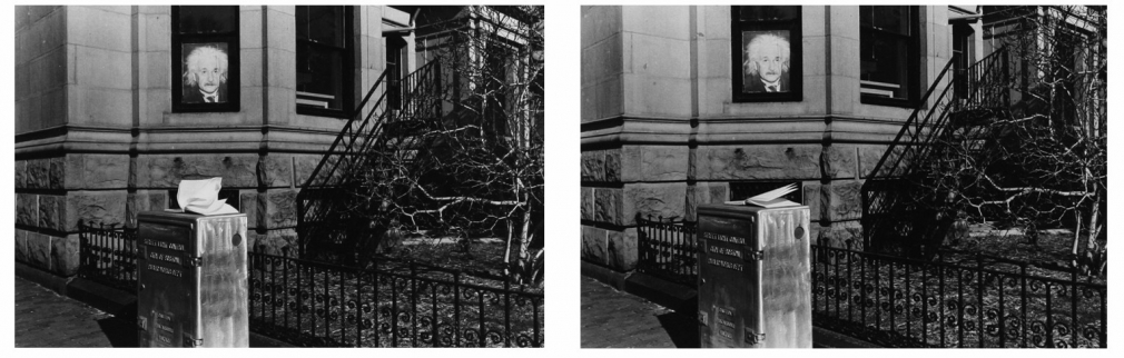 Untitled (Riding First Class on the Titanic), 1974-1998 Gelatin silver prints, printed c. 1974-1998 5 x 7 3/8 inches each