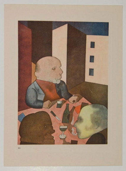 George Grosz -  People Are Basically Good, 1919  | Bruce Silverstein Gallery