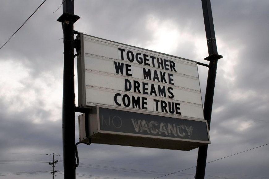Zoe Strauss - Together We Make Dreams Come True, 2001-2008  | Bruce Silverstein Gallery
