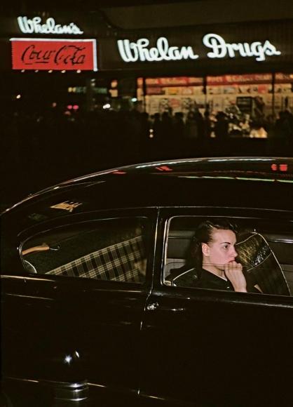 Marvin E. Newman - Broadway VI, 1954  | Bruce Silverstein Gallery