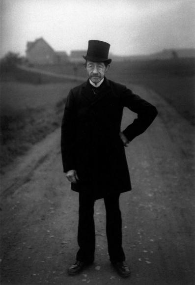 August Sander - Farmer on His Way to Church, 1925-1926  | Bruce Silverstein Gallery