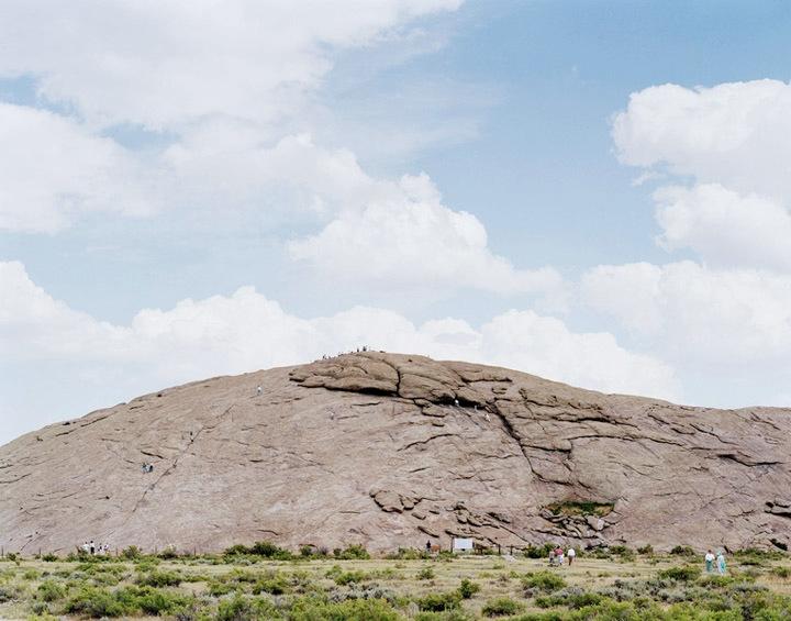 Jesse Chehak - Independence Rock, Yellowstone Park, Wyoming, 2007  | Bruce Silverstein Gallery