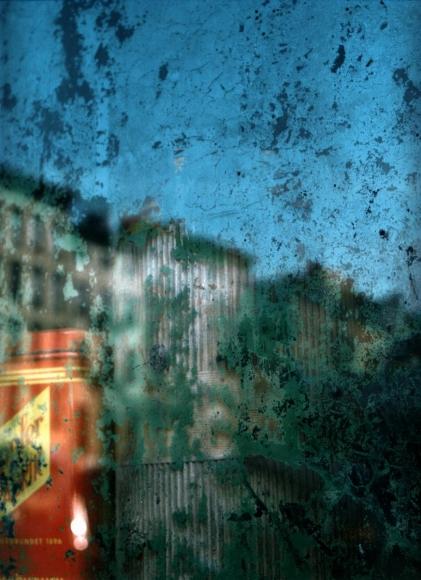 Saul Leiter -  Window, New York, 1957  | Bruce Silverstein Gallery