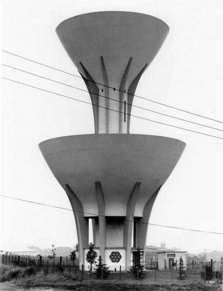 Bernd and Hilla Becher- Water Tower, Arras, Pas-de-Calais, 1979  | Bruce Silverstein Gallery