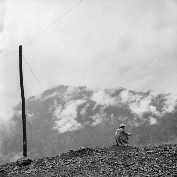 Telephone Pole, Ancash, Peru, 1980