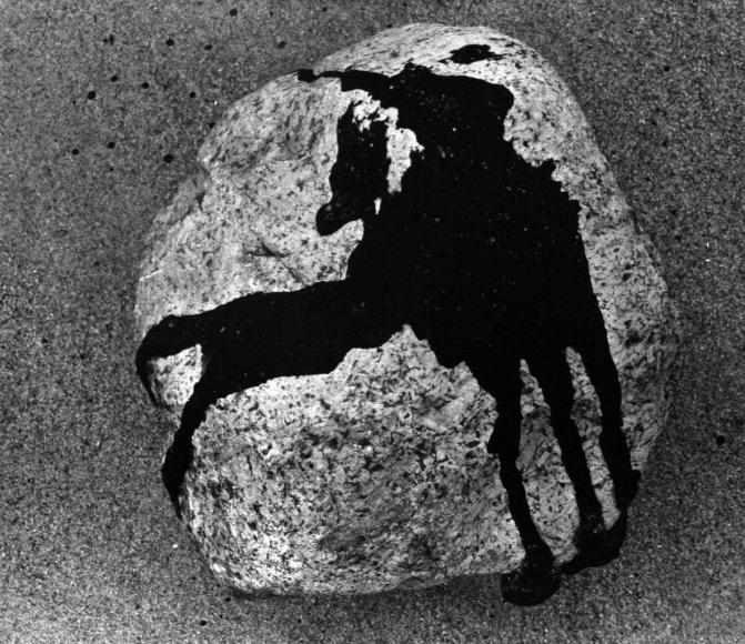 Aaron Siskind The Rock, Martha's Vineyard, c. 1947 Gelatin silver print, printed c.1947 11 x 14 inches