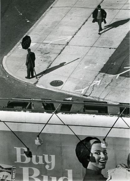 André Kertész - Buy Bud, 1962  | Bruce Silverstein Gallery