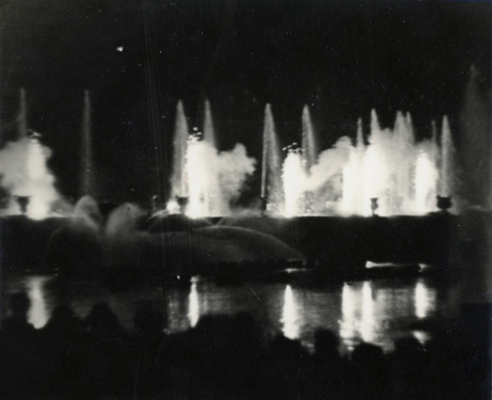 Constantin Brâncuşi - Versailles: Fountain at Night,1930 | Bruce Silverstein Gallery