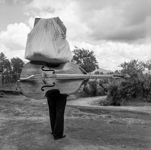 Bass and a Bundle, Santa Lucia Utatlan, Guatemala, 1979