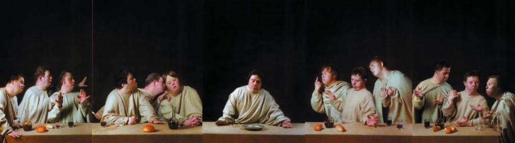 Raoef Mamedov -  Last Supper, 1998  | Bruce Silverstein Gallery