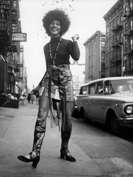 Miss Betty Davis, 1969, Gelatin silver print, printed c. 1969