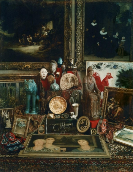 The Cincinnati Art Museum Centennial Still Life, 1980 Polaroid. 5 1/4 x 4 1/4 inches