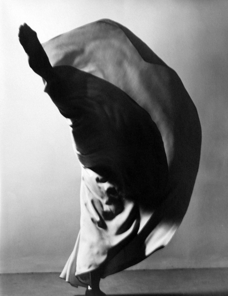 Valerie Bettis (Kick), 1940 	Gelatin silver print, printed later 	9 x 7 inches