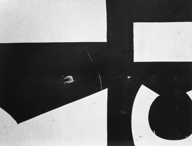 Aaron SiskindChicago 16, 1957 Gelatin silver print, printed c. 1957. 8 x 10 inches