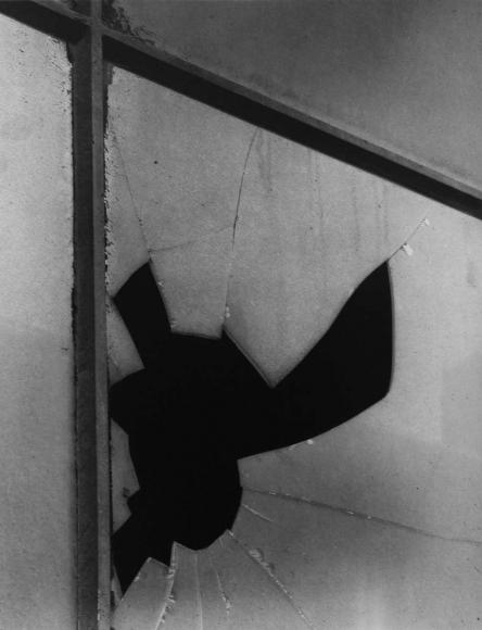 Aaron Siskind New York 6, Windows, 1947 Gelatin silver print, printed 1981 14 x 11 inches