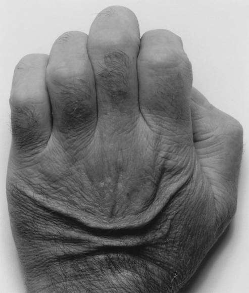 John Coplans (1920-2003)Back of Hand, No. 1, 1986 Gelatin silver print 29 x 34 in. (73.7 x 86.4 cm)
