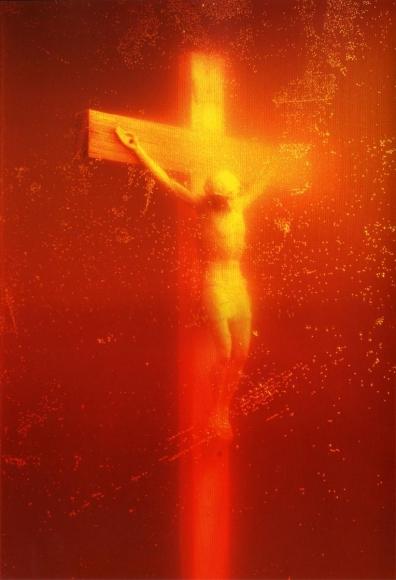 Andres Serrano -  Piss Christ, 1987  | Bruce Silverstein Gallery