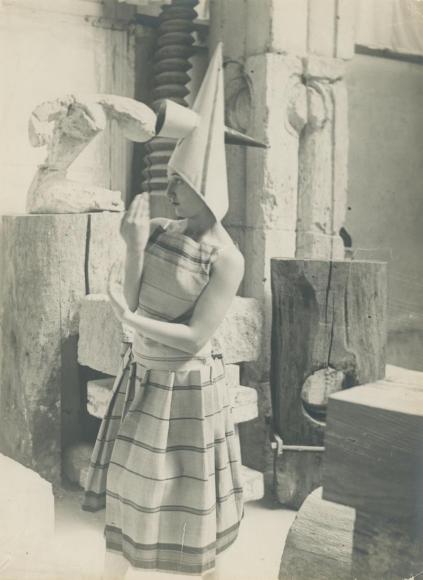 Constantin Brâncuşi - Lizica Codreanu in Brancusi's Studio 1, 1922 | Bruce Silverstein Gallery