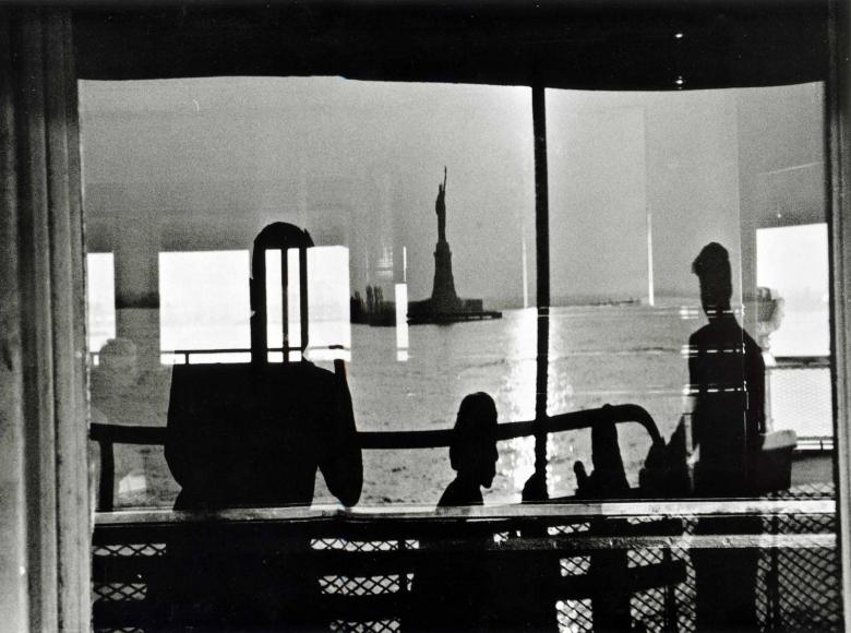 Staten Island Ferry, 1954, Gelatin silver print