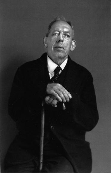 August Sander - The Herbalist, c. 1928  | Bruce Silverstein Gallery