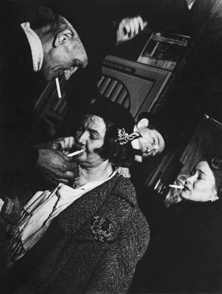 Lisette Model -  Sammy's Bar, 1945  | Bruce Silverstein Gallery