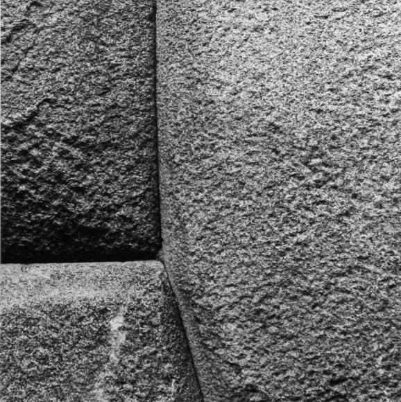Aaron Siskind Cusco Wall 21, 1975 Gelatin silver print, printed c.1975 8 x 10 inches