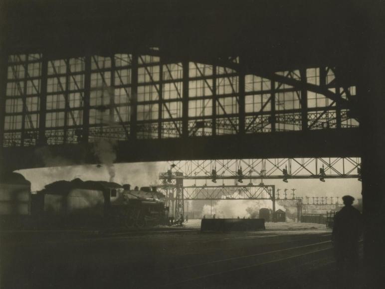 E. O. Hoppé - R. R. Station, Boston, Massachussetts, 1926    Bruce Silverstein Gallery