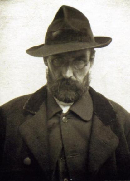 André Kertész - Accordionist, Esztergom, Hungary, 1916 ; Bruce Silverstein Gallery