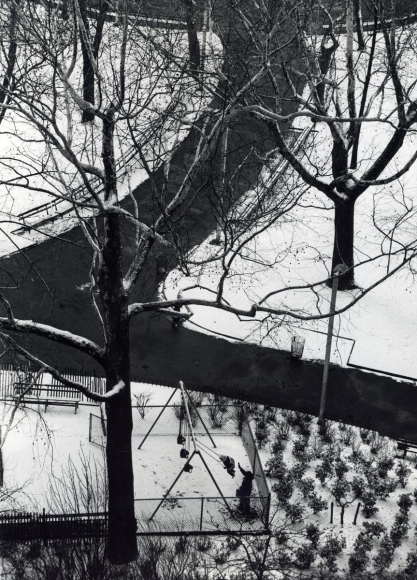 André Kertész - Swings, February 1, 1973 ; Bruce Silverstein Gallery
