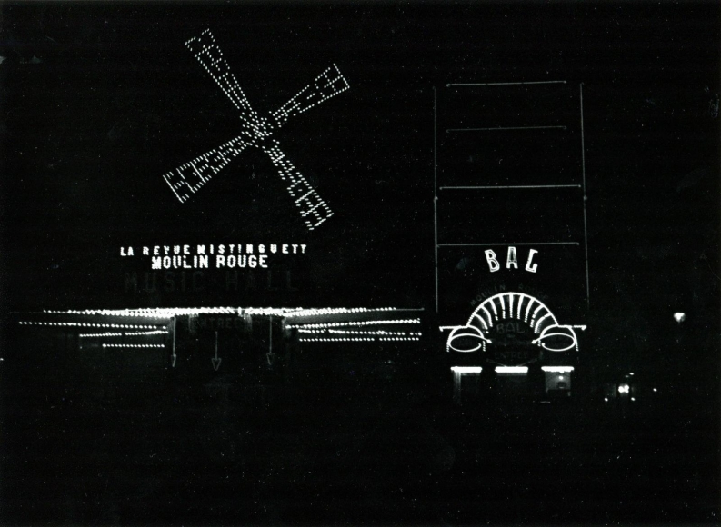André KertészPigalle at Night, 1929 Gelatin silver print, printed c. 1970s. 8 x 10 inches