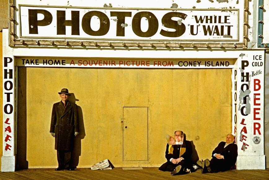 Marvin Newman -  Coney Island I, 1953  | Bruce Silverstein Gallery