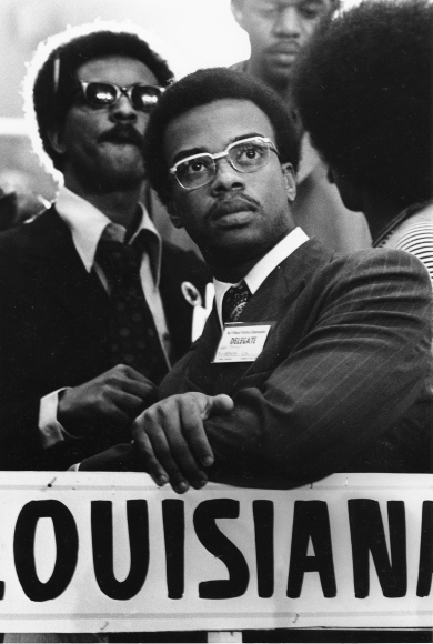 Chester Higgins -  A delegate at the National Black Political Convention, Gary, Indiana, 1972